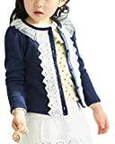 Product review for TagoWell Little Girl Cute Coat Lace Shrug Short Cardigan Button Sweaters Jacket