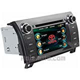 2008-2014 Toyota Sequoia 2007-2013 Tundra In-Dash GPS Navigation DVD CD Stereo Bluetooth Hands-free A2DP Music Streaming FM AM Radio USB MP3 SD AV Receiver Steering Wheel Controls iPod Ready Touch Screen Player JBL Amplified or Non-JBL Sound Deck