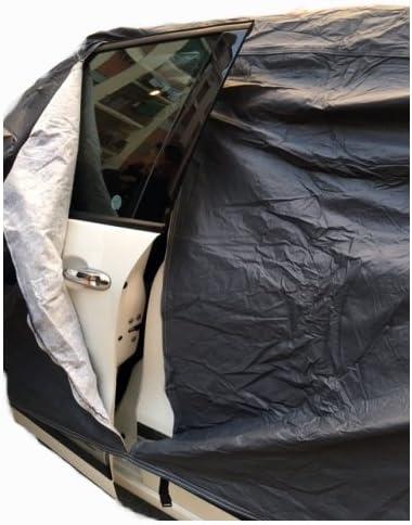 4WD Intense TELO COPRIAUTO FELPATO IMPERMEABILE ANTIGRAFFIO ANTIGRANDINE TAGLIA L 482X196X140CM COPERTURA PER AUTO CON ZIP LATERALE UNIVERSALE COMPATIBILE CON MITSUBISHI ASX 2.2 DI-D 150 CV aut