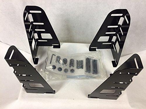 Metal Set Footboard - Spa Sensations Smart Base 4-Piece Bracket Set