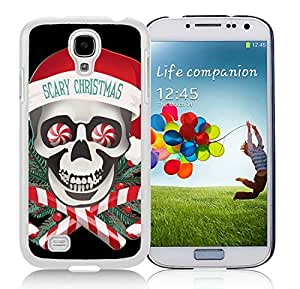 Fashion Style Samsung S4 TPU Protective Skin Cover Scary Christmas White Samsung Galaxy S4 i9500 Case 1