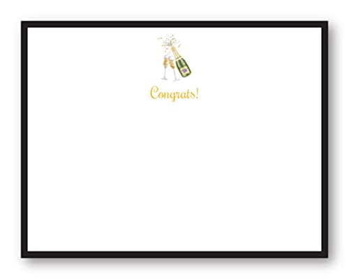 Amazon.com: DECISIONARIO, Congrats Flat Notecard. Incluye ...