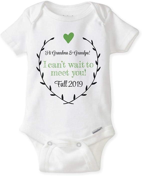 Hello Grandma See You In September baby vest boys girls