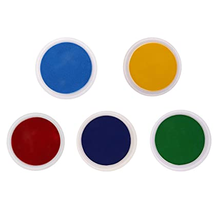 5 Stücke Große Farben Stempelkissen Kinder Hand /& Fuß Drucke Finger