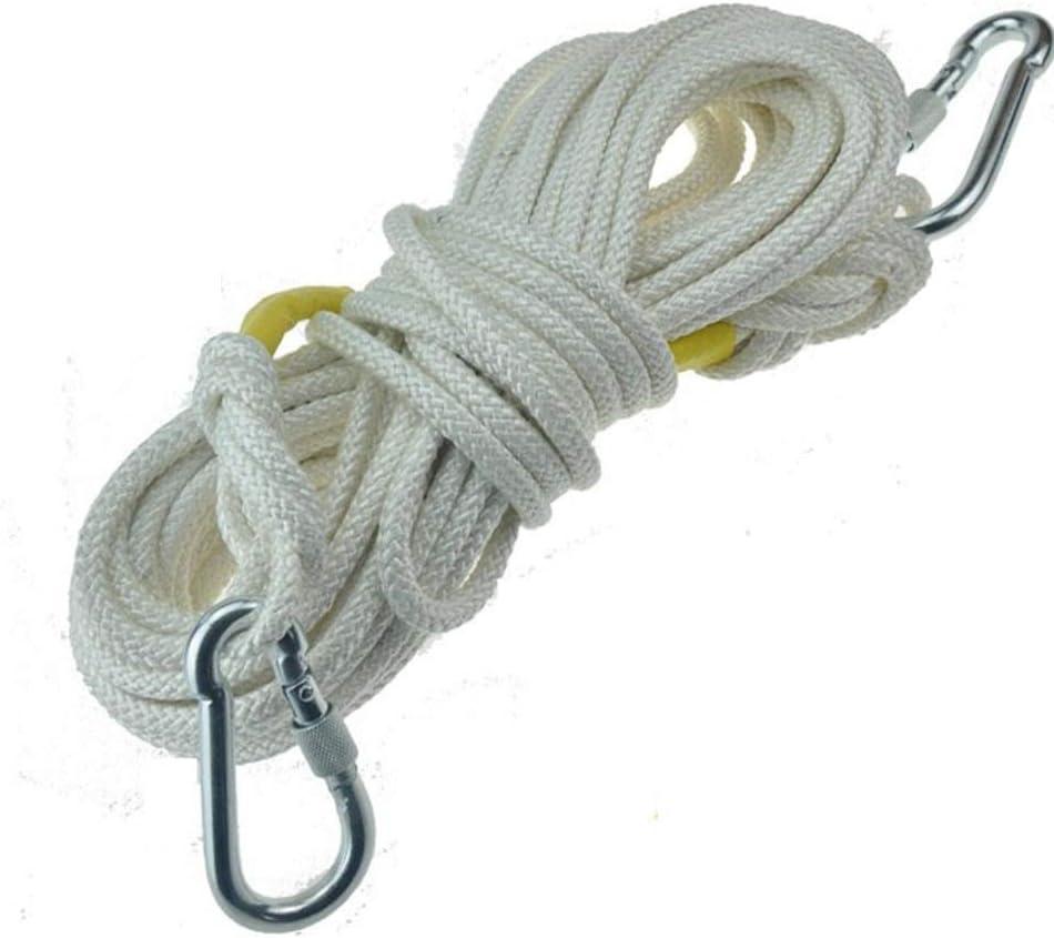 Cuerda 9mm cuerda de escalada roto tire de la cuerda de nylon ...