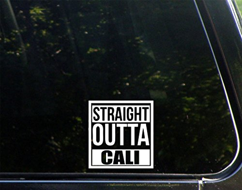 Sweet Tea Decals Straight Outta Cali - 3 3/4