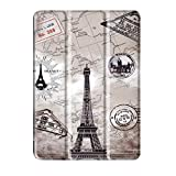 MagiDeal Smart Thin Folio Stand Leather Case Smart Cover for Lenovo TAB4 10 Plus Retro Tower