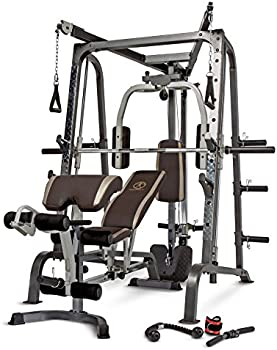 Marcy Diamond Elite Home Gym Smith Cage with Linear Bearings