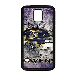 QQQO Baltimore Ravens 3 Hot sale Phone Case for Samsung S5 hjbrhga1544