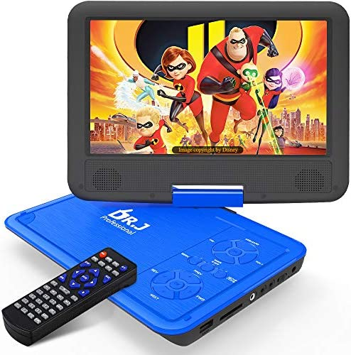 "DR. J 11.5"" Portable DVD Player with HD"