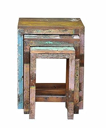 Stool Set Of 3 Farmhouse Bar Height Pub Table /Bar Stools, Reclaimed Wood  Furniture