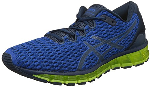 ASICS Men Gel-Quantum 360 Shift MX, Victoria Blue/Dark Blue/Safety Yellow VICTORIA BLUE/DARK BLUE/SAFETY YELLOW