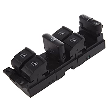 TOOGOO(R)Ventana Panel Maestro Interruptor conjunto de control para Volkswagen 99-04 Golf Jetta Bora 98-04 Passat B5 B5.5: Amazon.es: Coche y moto