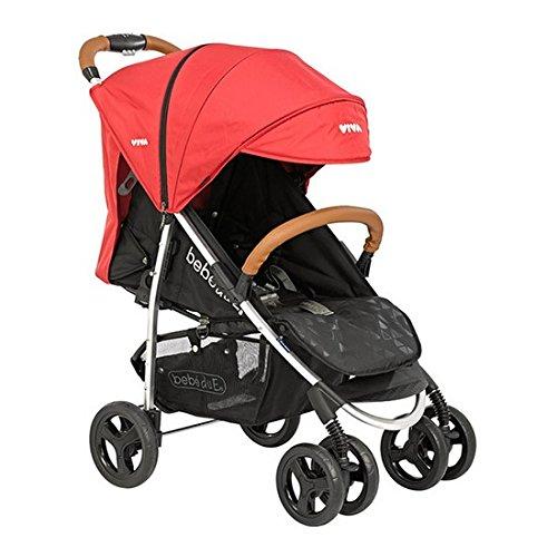 Bebé Due 10200 Viva - Sillas de paseo, Rojo/Negro Bebe Due