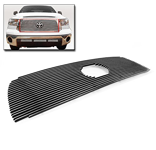 ZMAUTOPARTS Upper Billet Grille Grill Insert For 2007-2009 Toyota Tundra
