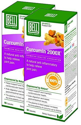 Bell Curcumin 2000X (90 Caps) 2-Pack