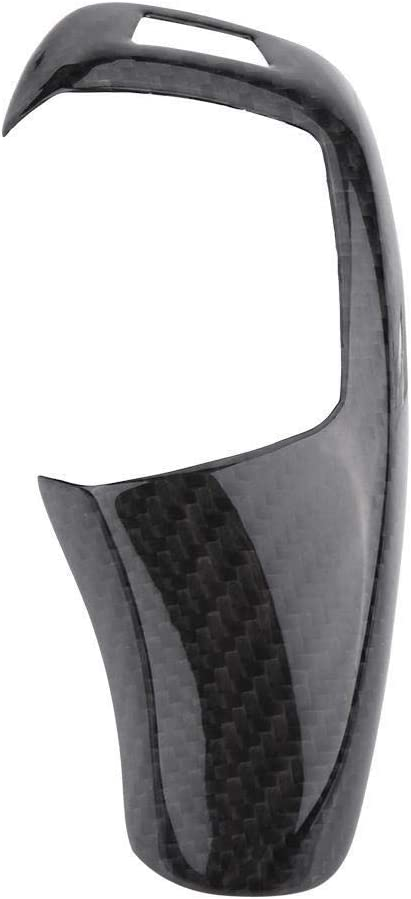 KSTE In Fibra di Carbonio manopola del Cambio di Copertura Trim for BMW F20 F30 F31 F34 1 2 3 4 5 Serie Piccola Pagina
