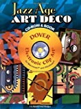 img - for Jazz Age Art Deco CD-ROM and Book (Dover Electronic Clip Art) by Serge Gladky (2007) Paperback book / textbook / text book