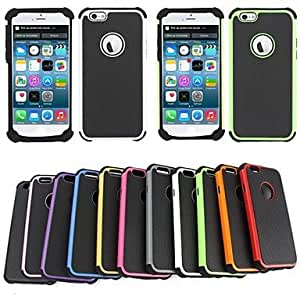 CA-TT-121 BEBONCOOL Executive Armor Defender High Impact Combo Hard Soft Gel Cover for iPhone 6(Assorted Color)