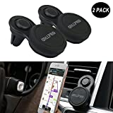 OHLPRO Phone Holder For Car Magnetic Air Vent Car Cell Phones Holder Magnet Mount for iPhone 7/7Plus/6s/6P Galaxy Smartphones GPS Mobile Magnet Support Fast Snap Technology [2 PACK]
