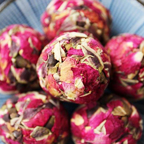 Aseus Yunnan Natural Rose Crown tea, handmade rose tea, dragon ball special big sulfur free dry rose 500g by Aseus-Ltd (Image #1)