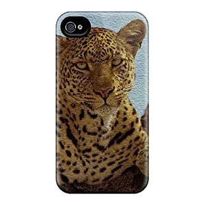 For Iphone Case, High Quality Leopard For Iphone 4/4s Cover Cases