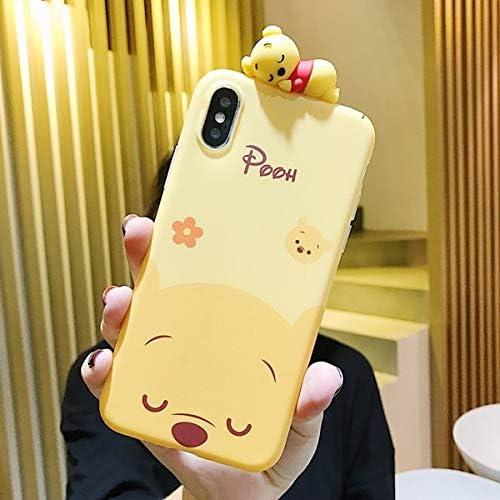 Cartoon Doll Winnie Pooh Tigger Phone Case for iPhone X XS MAX XR ...