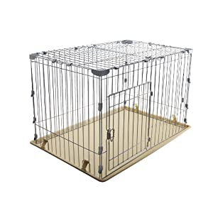 IRIS Medium Wire Deluxe Dog Crate Click on image for further info.