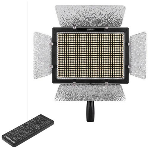 KANEED LED ビデオライト YONGNUO YN600L 600 LED 5500K色温度調節可能LEDビデオライトキCanon / Nikon/Sony のカムコーダーDSLR用 撮影用定常光ライト   B07QNQJCCH