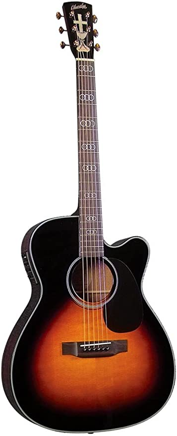 Blue Ridge BR-343CE - Guitarra acústica con cuerdas metálicas ...
