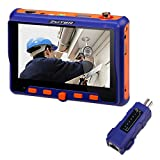 "CCTV Camera Tester, ZOTER 5"" LCD Monitor Analog AHD TVI CVI VGA Video Audio PTZ RS485 Test Portable Wrist Tester Tool"
