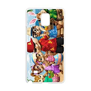 Alvin and the Chipmunks Samsung Galaxy Note 4 Cell Phone Case White Z0004878