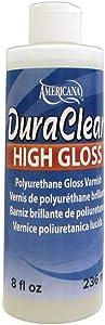 DecoArt Americana Duraclear Varnish 8oz High Gloss