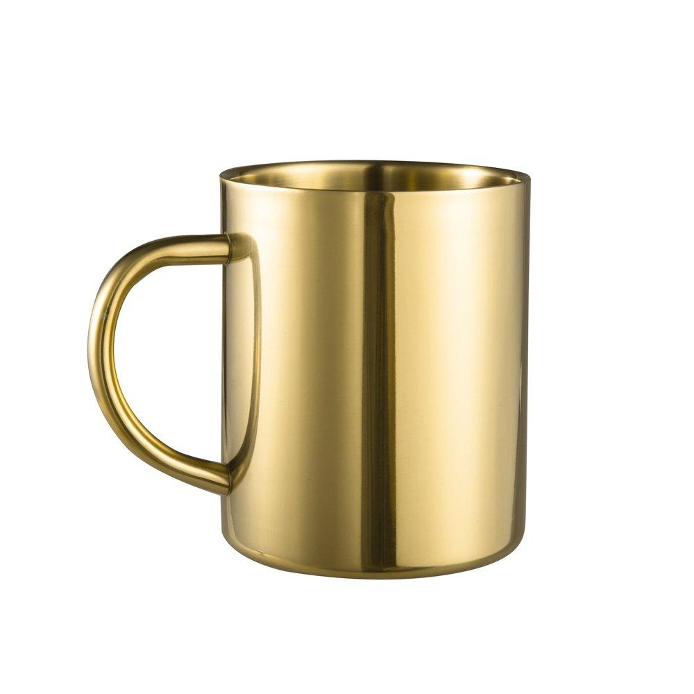 Amazon.com: IMEEA Coffee Mug 13.5oz/400ml Double Wall Stainless ...