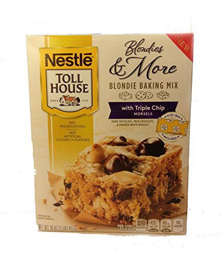 Blondie Chocolate Chip (Toll House Blondies & More Baking Mix with Triple Chip Morsels, 16 oz)
