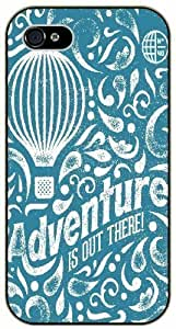 Adventure is out there - Vintage globe art - Adventurer For SamSung Galaxy S5 Case Cover plastic case BLACK