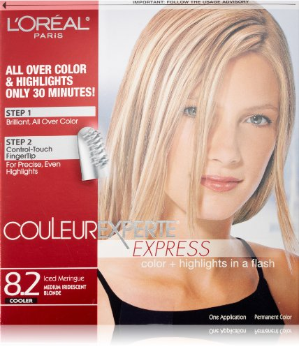 Ice Color (L'Oréal Paris Couleur Experte Hair Color + Hair Highlights, Medium Iridescent Blonde - Ice)