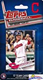 Cleveland Indians 2017 Topps Baseball EXCLUSIVE Special Limited Edition 17 Card Complete Team Set with Francisco Lindor,Carlos Santana,Corey Kluber & More Stars & RC! Shipped in Bubble Mailer! WOWZZER