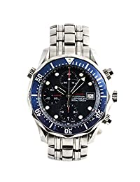 Omega Seamaster Professional 300 Chronograph swiss-automatic Mens Watch 2225.80.00 (Certified Pre-owned)