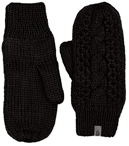 The North Face Women's Cable Knit Mitt (L/XL, TNF Black) (North Face Womens Cable)