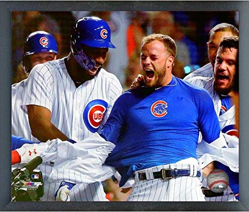- David Bote Chicago Cubs MLB Grand Slam Action Photo (Size: 12
