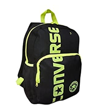 Converse Jet Black Yellow Converse All Star Backpack Rucksack Kids School  Travel  Amazon.co.uk  Luggage 0e4e2148f1
