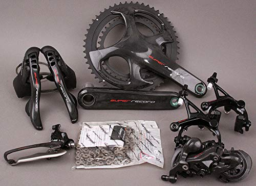 (Campagnolo Super Record 12 Speed 2018-19 Group Groupset 6 Pc 172.5 53/39 Crank)