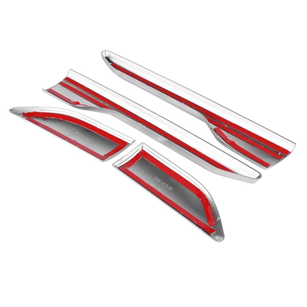 Nero KIMISS 4Pcs Car Fender Fender Side Air Vent copertura della copertura