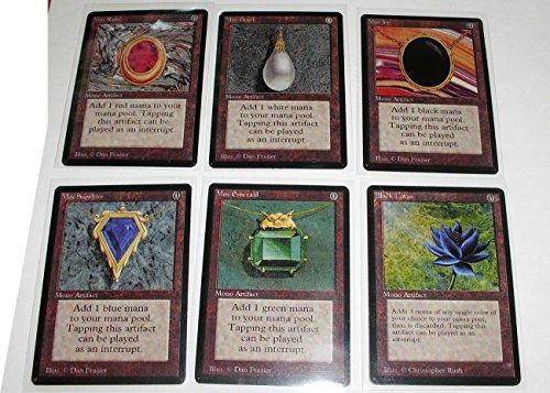 Mtg Proxy Power Nine Black Lotus Moxes Ancestral Recall Import It