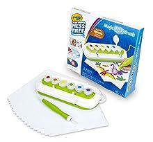 Crayola Color Wonder Mess Free Magic Light Brush 2.0 Paint Set, Gift for Kids Age 3+
