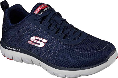 Flex Point Uomo Red da Golden 0 Skechers Sneaker 2 Navy Advantage dHqd7U