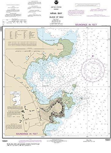 NOAA Chart 19341 Häna Bay Island of Maui: 23.44