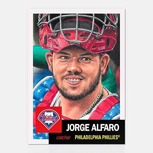 - 2018 Topps The MLB Living Set Baseball #122 Jorge Alfaro Philadelphia Phillies Official MLB Trading Card Online Exclusive SOLD OUT Limited Print Run