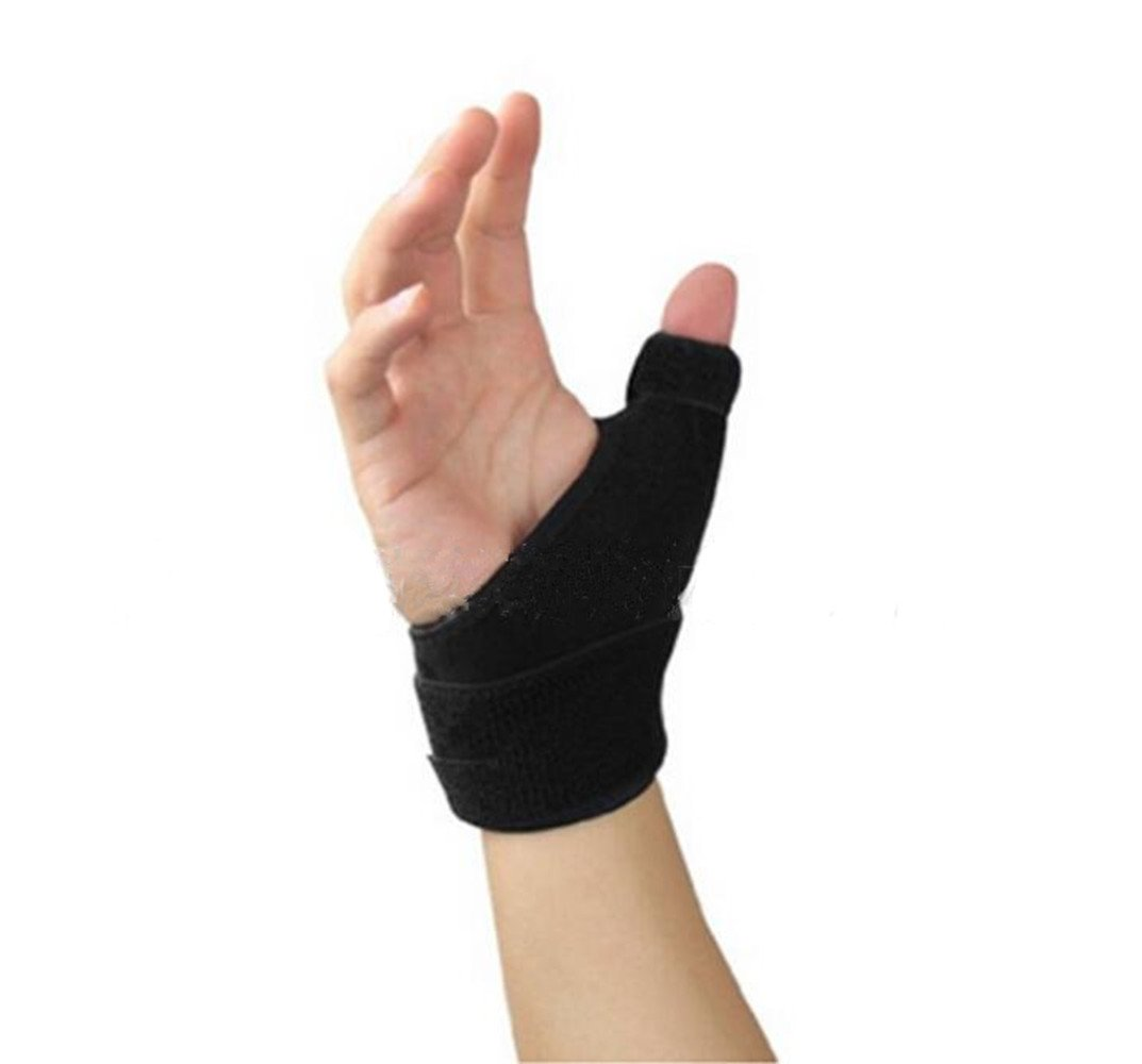 Thumb Spica Thumb Brace, MALLCROWN Neoprene Splint for Trigger Finger, Mommy Thumb Brace, Arthritis Tendonitis Sprained Thumb Symptoms, Thumb Arthritis Pain Relief Brace,Right Hand Support